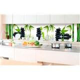 Samolepící tapety za kuchyňskou linku ZEN kameny rozměr 350 cm x 60 cm