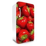 Samolepící tapety na lednici jahody rozměr 120 cm x 65 cm