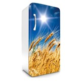 Samolepící tapety na lednici pšeničné pole rozměr 120 cm x 65 cm - POSLEDNÍ KUSY