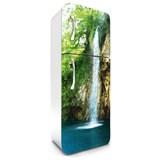 Samolepící tapety na lednici vodopády rozměr 180 cm x 65 cm