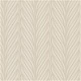 Luxusní vliesové tapety na zeď Colani Legend splétané pruhy světle hnědé