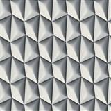 Vliesové tapety na zeď Harmony Mac Stopa 3D vzor tmavě šedý