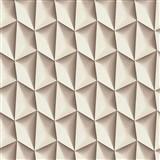 Vliesové tapety na zeď Harmony Mac Stopa 3D vzor světle hnědý