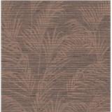 Luxusní vliesové tapety na zeď Madison florální vzor hnědý s měděnými odlesky