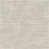 Luxusní vliesové tapety na zeď Madison florální vzor světle hnědý s metalickými odlesky