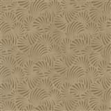 Vliesové tapety na zeď Nabucco malý vějířovitý vzor zlatý