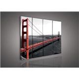 Obraz na plátně Golden Gate Bridge 120 x 100 cm