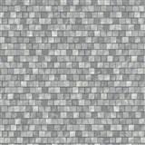 Vliesové tapety na zeď Origin - mozaika šedá