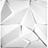 3D panel XPS MERKUR bílý rozměr 50 x 50 cm