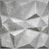 3D panel XPS DIAMANT BETON šedý 50 x 50 cm