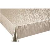 Ubrus návin 20 m x 140 cm metalické vlnovky zlaté
