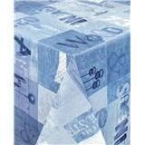 Ubrusy návin 20 m x 140 cm Industrial modrý