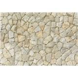 Fototapety přírodní kamenná stěna rozměr 368 cm x 254 cm