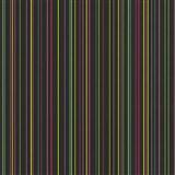 Papírové tapety na zeď X-treme Colors - proužky barevné na černém podkladu
