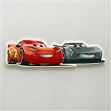 3D Pěnová dekorace na zeď Auta McQueen a Jackson