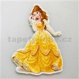 3D Pěnová dekorace na zeď princezna Bella - POSLEDNÍ KUSY
