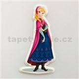 3D Pěnová dekorace na zeď Frozen Anna