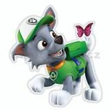 3D Pěnová dekorace na zeď Tlapková patrola Rocky (Paw Patrol)