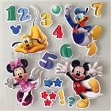 3D samolepky na ze� d�tsk� Mickey, Minnie, Donald, Goofy