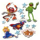 3D samolepky na zeď dětské Muppet Show