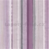 Vliesové tapety na zeď 4ever - pruhy fialovo-šedé - SLEVA