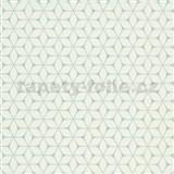 Vliesové tapety na zeď Bali moderní plastický vzor mint