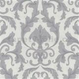 Tapety na zeď Baroque - zámecký vzor světle fialový - SLEVA