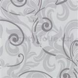 Tapety na ze� Baroque - barokn� vzor fialov� - SLEVA