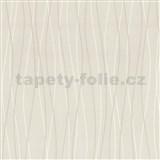 Vliesové tapety Belcanto - vlnovky béžové