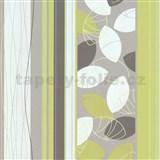 Vliesov� tapety Belcanto - list� zelen�