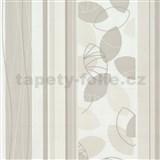 Vliesov� tapety Belcanto - list� b�ov� - SLEVA