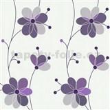 Vliesov� tapety Belcanto - kv�ty fialov�