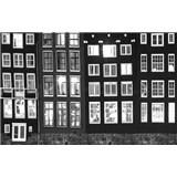 Luxusní vliesové fototapety Amsterdam - černobílé, rozměr 418,5 x 270cm