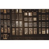 Luxusní vliesové fototapety Amsterdam - sépie, rozměr 418,5 x 270cm
