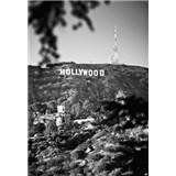 Luxusní vliesové fototapety Los Angeles - černobílé, rozměr 186 cm x 270 cm