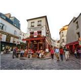 Luxusní vliesové fototapety Paříž - barevné, rozměr 372 cm x 270 cm