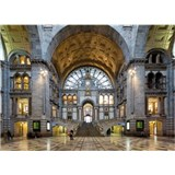 Luxusní vliesové fototapety Antwerp - barevné, rozměr 372 cm x 270 cm