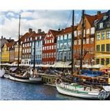 Luxusní vliesové fototapety Copenhagen - barevné, rozměr 325,5 cm x 270 cm