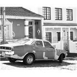 Luxusní vliesové fototapety Cape Town - černobílé, rozměr 325,5 cm x 270 cm