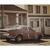 Luxusní vliesové fototapety Cape Town - sépie, rozměr 325,5 cm x 270 cm
