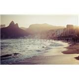 Luxusní vliesové fototapety Rio de Janeiro - barevné, rozměr 418,5 x 270cm