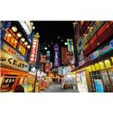 Luxusní vliesové fototapety Tokyo - barevné, rozměr 418,5 x 270cm