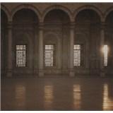Luxusní vliesové fototapety Cairo - sépie, rozměr 279 cm x 270 cm