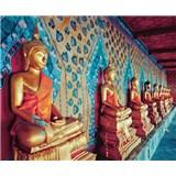 Luxusní vliesové fototapety Bangkok - barevné, rozměr 325,5 cm x 270 cm