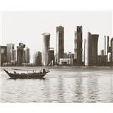 Luxusní vliesové fototapety Doha - barevné, rozměr 325,5 cm x 270 cm