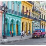Luxusní vliesové fototapety Havana - barevné, rozměr 279 cm x 270 cm