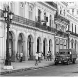 Luxusní vliesové fototapety Havana - černobílé, rozměr 279 cm x 270 cm