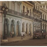 Luxusní vliesové fototapety Havana - sépie, rozměr 279 cm x 270 cm