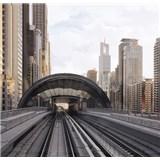 Luxusní vliesové fototapety Dubai - barevné, rozměr 279 cm x 270 cm