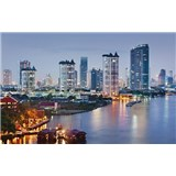Luxusní vliesové fototapety Bangkok - barevné, rozměr 418,5 cm x 270 cm